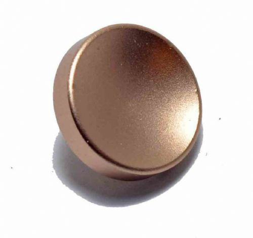 High Quality Shutter Button Soft Release Metal Concave Bronze